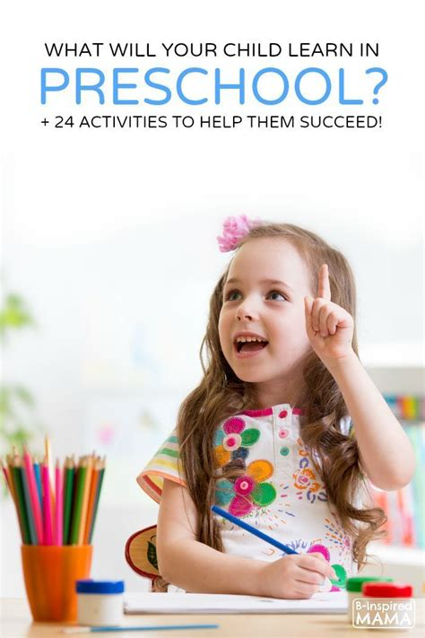 what do learn in preschool 24 activities 584 | What Do Kids Learn in Preschool 24 Activities to Help Them Succeed at B Inspired Mama