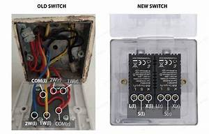 Replacing 2 Gang  2 Way Light Switch