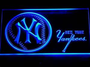 MLB LED Neon Sign