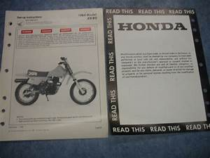 84 Xr80 Xr 80 1984 Honda Factory Oem Assembly Set Up