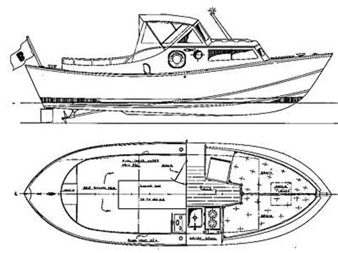 Dory Boat Drawing by Small Outboard Boat Plans Guide Boat Builder Plan