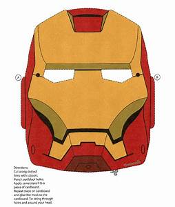 iron man mask print out With iron man face mask template