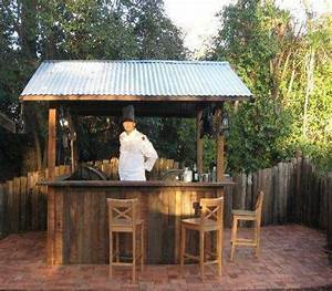 17 Best ideas about Rustic Outdoor Bar on Pinterest