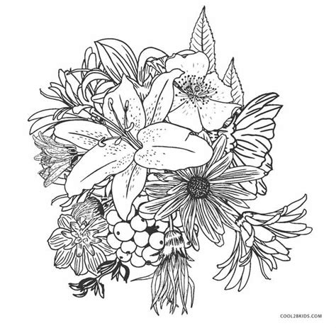 plant coloring pages plant and flower coloring pages cool2bkids