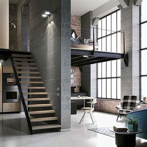 spacious loft interiors messagenote