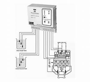 3 Phase Water Pump Control Panel Wiring Diagram