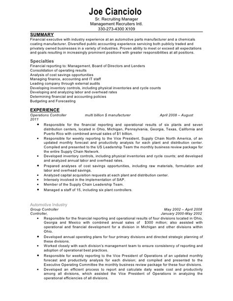 Document Controller Resumes by Confidential Controller Resume