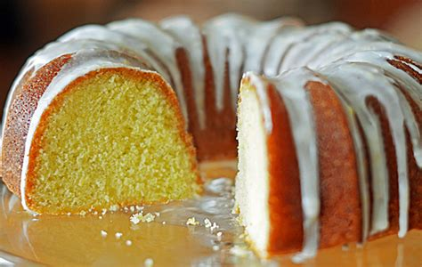 lemon buttermilk pound cake    chef