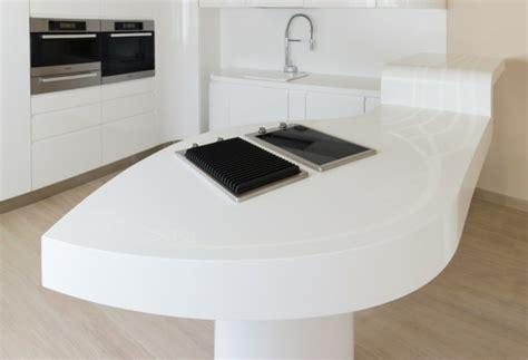 table de cuisine originale la nouvelle cuisine contemporaine en hi macs