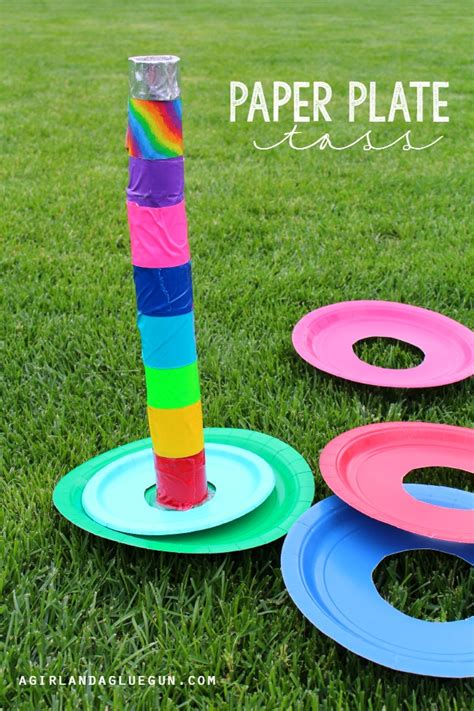5 Fun Games To Play With Paper Plates!  Design Dazzle