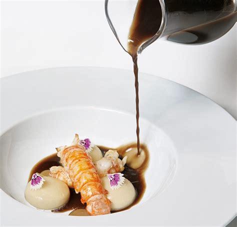 cuisine bosch raviolis líquidos de bacalao cigalas e infusión de ajo negro can bosch recetas de alta