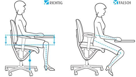 fauteuil bureau mal de dos moizi ergonomie richtig sitzen