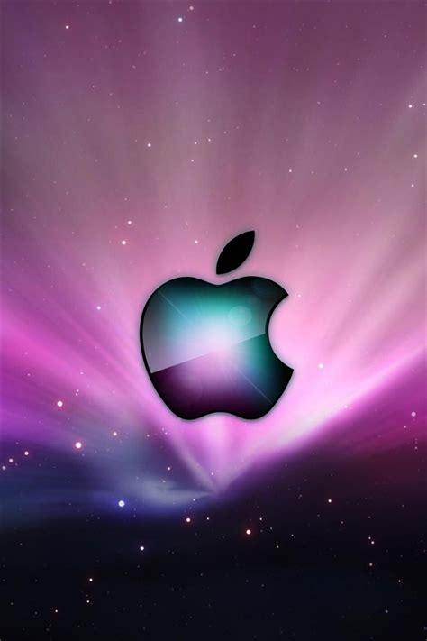 manzana purpura estrellas iphone xgs fondos