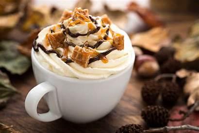 Coffee Drink Cream Drinks Caramel Chocolate Drinking