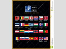 Nato members stock illustration Illustration of hungary