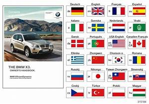 Bmw X3 Owner U0026 39 S Manual For F25 With Idrive  En  Mj 2011