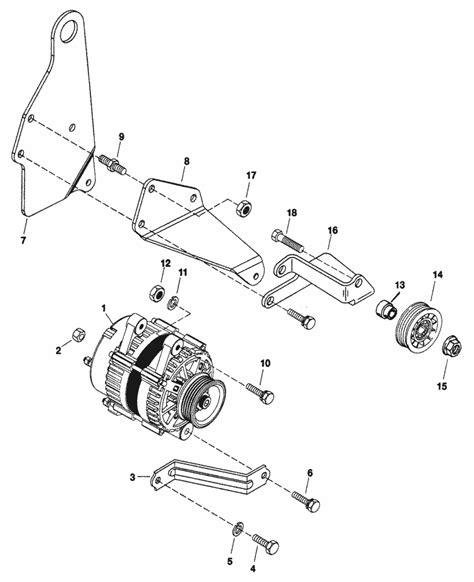 Mercruiser 5 7 Alternator Wiring Diagram by Mercruiser 5 7l Efi Mie Gm 350 V 8 1997 Alternator