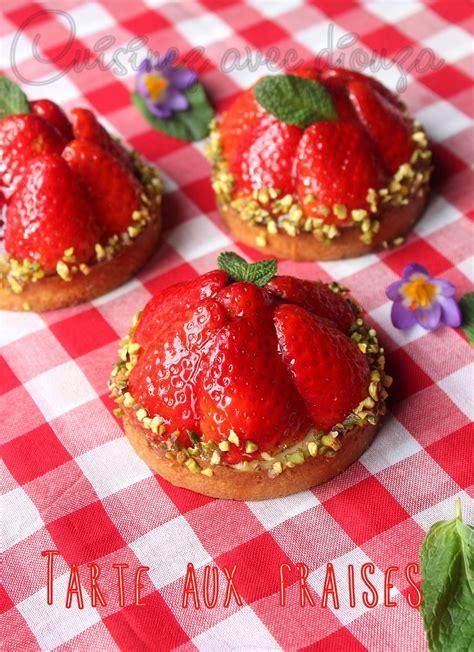 la cuisine de aux fraises tarte aux fraises recette simple blogs de cuisine