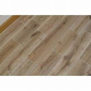 Parquet chene blanchi ceruse 15 x 125 mm prix direct for Parquet blanc cérusé