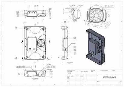 Technical Drawings Detailed Drawing Mechanical Engineering Cad