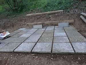 Sur Quoi Poser Un Abri De Jardin : pose terrasse bois sur dalle gravillonnee ~ Dailycaller-alerts.com Idées de Décoration
