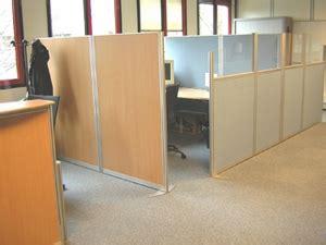 separation bureau amovible aménagement bureau cloisonnette de bureau cloison de
