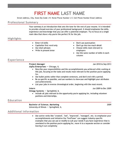 Create Resume Free by Choose From 20 Professionally Designed Free Resume