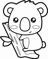 Coloring Koala Bersama Zoo Berbagi Ilmu Belajar Animal Easy Ingrahamrobotics sketch template