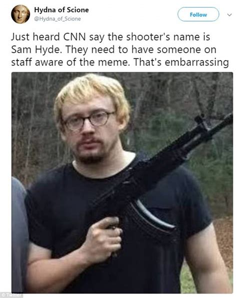 Sam Hyde Memes - vicente gonzalez says texas shooter is 4chan meme sam hyde daily mail online