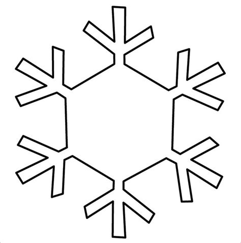 printable snowflake template 14 free snowflake templates pdf free premium templates