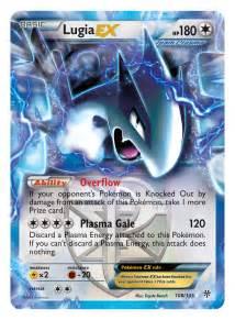 Pokemon Lugia Ex Card