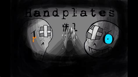 undertale comic dub handplates part  youtube