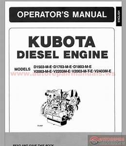Kubota D722 Spare Parts Catalogue