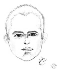 Male Face Pencil Sketch