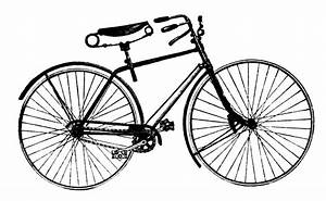 Vintage Advertising Clip Art - Antique Bicycle - The ...