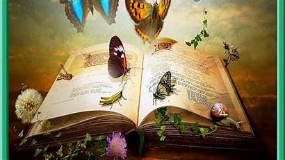Wallpapers Fantasy Knowledge Artistic Books Backgrounds Abyss