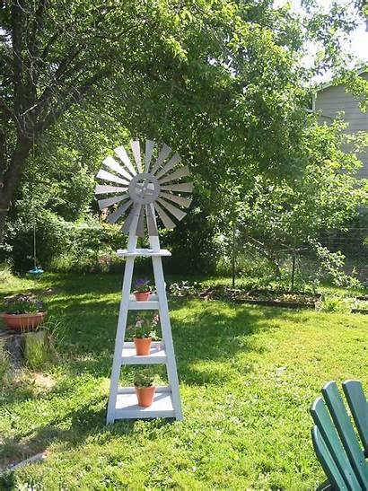 Windmill Garden Outdoor Windmills Decor Diy Lighthouses