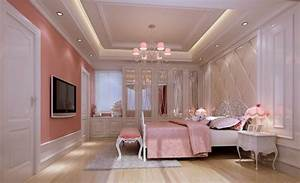 The most beautiful pink bedroom interior design 2013