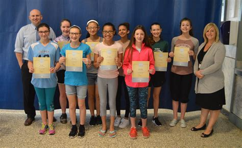 goff honors april students month east greenbush csd