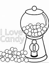 Coloring Candy Printable Candies Candyland Sweets Clipart Rapper Halloween Pdf Chocolate Cane Apple Result Castle Land Popular Heart Library Gingerbread sketch template