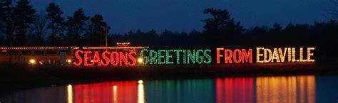 christmas festival of lights edaville family theme park