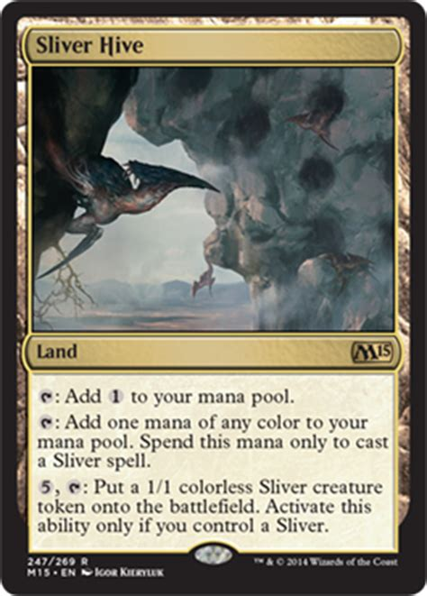 sliver deck mtg standard m15 review a year late mtgprice