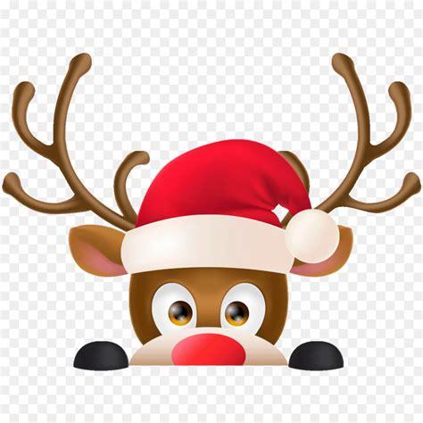 reindeer rudolph santa claus christmas day sticker