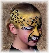 leopard face paint by ...