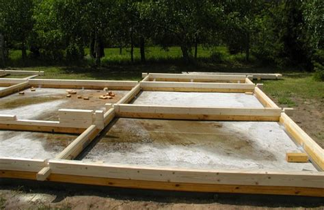 Bodenplatte Terrasse Betonieren Fundamente Fundamente Terrasse