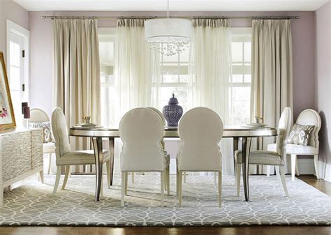 Understated Glam Dining Room  Traditional  Dining Room