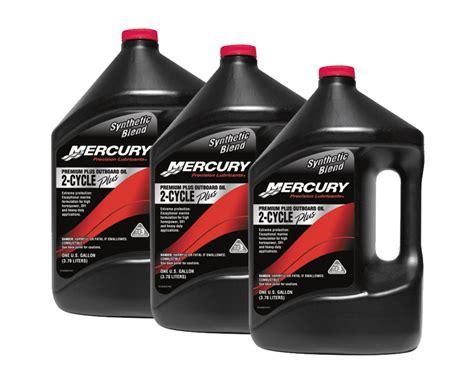 Mercury Premium Plus Synthetic Blend Tcw 3 Outboard Oil