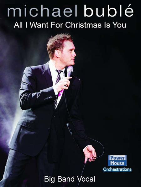 All I Want For Christmas Is You Sheet Music By Michael