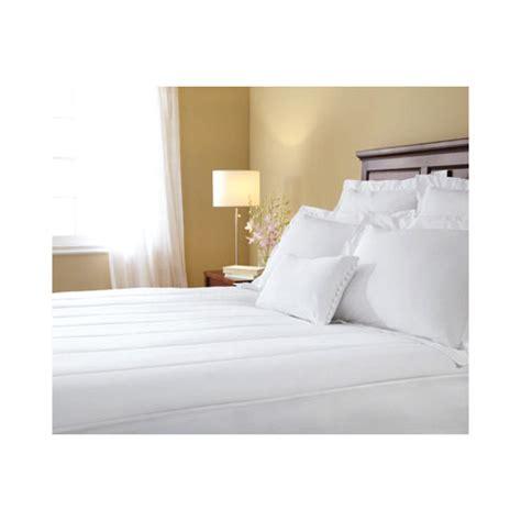 size heated mattress pad sunbeam therapedic size heated electric warming