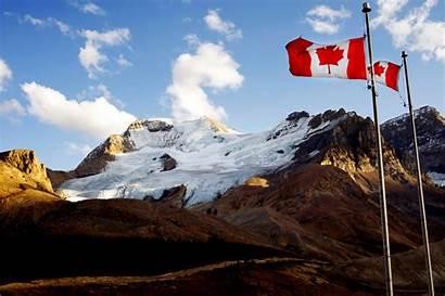 Canada Flag Canadian Wallpapers Desktop Awesome Landscape